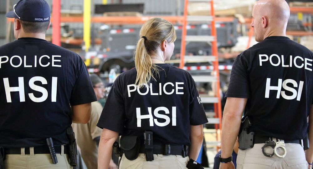 U.S. Immigration and Customs Enforcement's (ICE) Homeland Security Investigations (HSI) officers