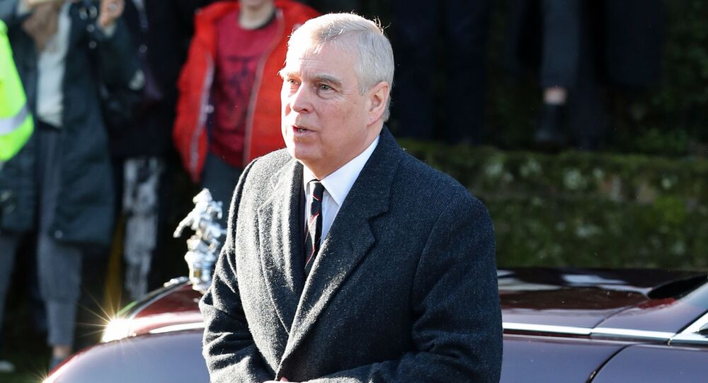 Britain's Prince Andrew arrives at St. Mary the Virgin church in Hillington, near royal Sandringham estate, in Norfolk, Britain January 19, 2020