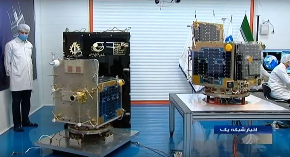 Iran made Zafar 1 & Zafar 2 imaging satellites, Science & Technology university