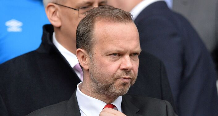 Manchester United executive vice-chairman Ed Woodward in the stands