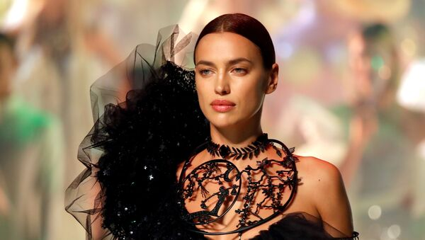Model Irina Shayk presents a creation by designer Jean Paul Gaultier as part of his Haute Couture Spring/Summer 2020 collection show in Paris, France, 22 January 2020. - Sputnik International