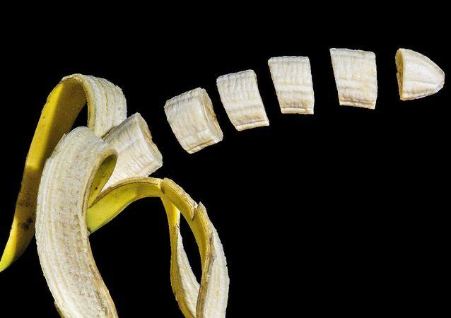 Banana cut