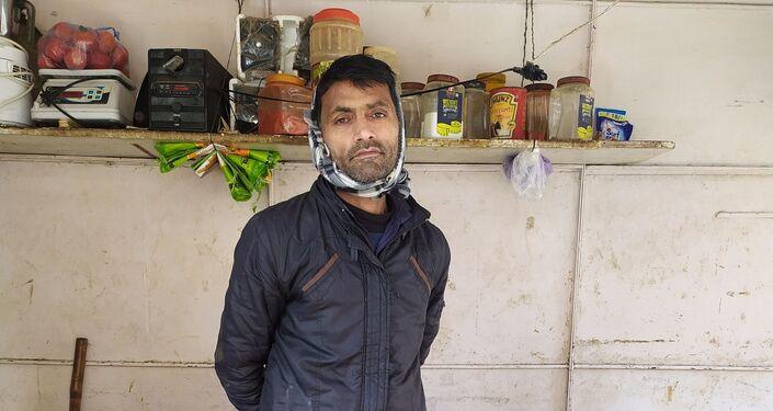Sangam Vihar resident Amit Sharma