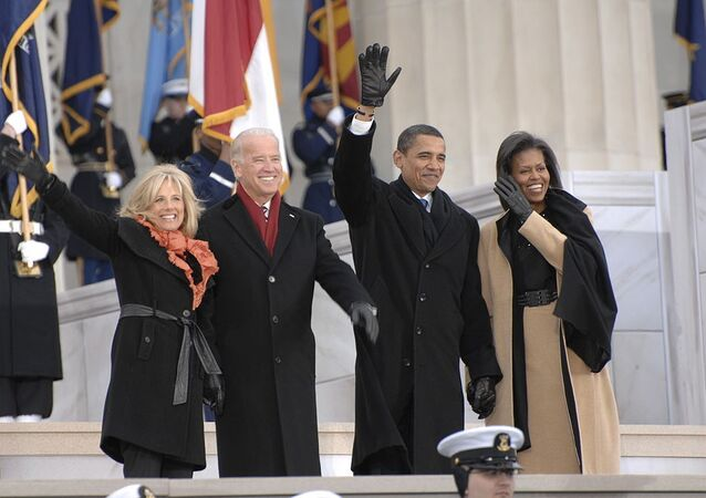 Obamas and Bidens