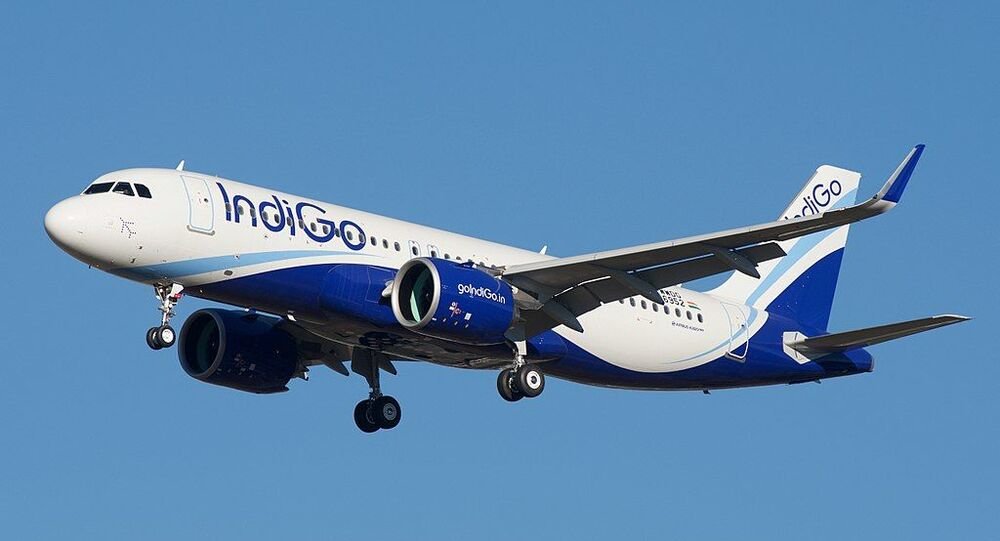 IndiGo Airbus A320neo F-WWDG