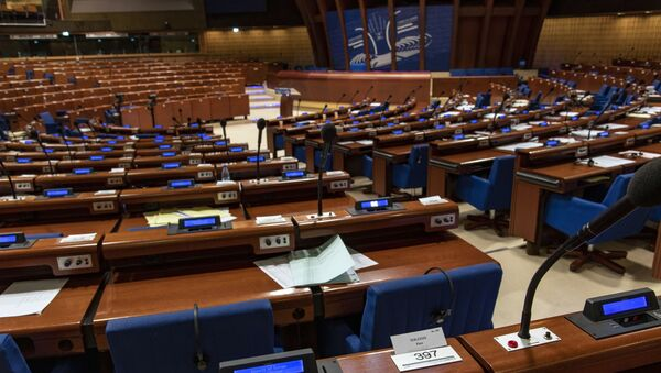 The winter session of the Parliamentary Assembly of the Council of Europe (PACE) which started in Strasbourg on Monday, 27 January 2020 - Sputnik International