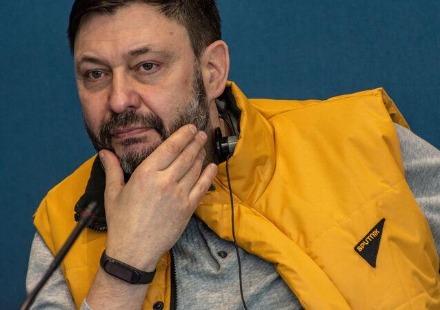 Kirill Vyshinsky, the executive director of Rossiya Segodnya International Information Agency,