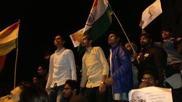 Anti-CAA protest march in Delhi, 30 January - Sputnik International