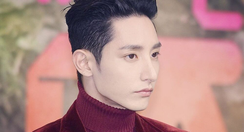 South Korean actor Lee Soo-hyuk