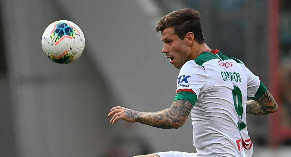 Fedor Smolov will be loaned to Celta until the end of the current football season, while the Spanish club reserves an option to buy the Russian striker
