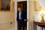 Britain's Prime Minister Boris Johnson meets with U.S. Secretary of State Mike Pompeo (not pictured) at Downing Street in London, Britain, January 30, 2020