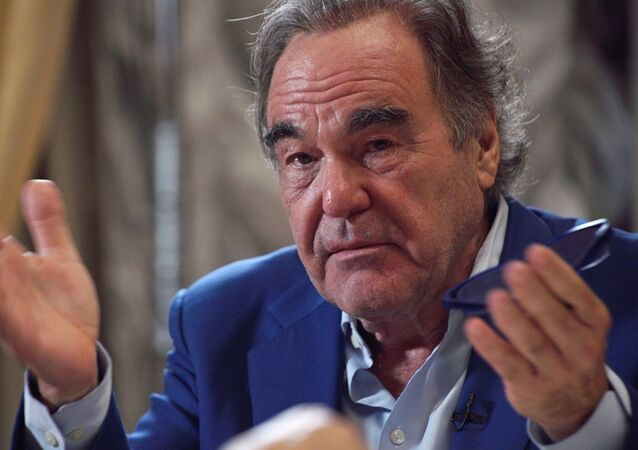 U.S. film director and screenwriter Oliver Stone