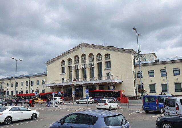 Vilnius Airport main entrance