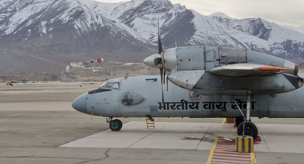 Indian Air Force's AN-32 Aircraft Takes Flight with Bio-fuel in Both Engines near China Border