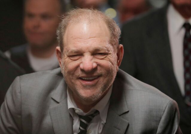 Film producer Harvey Weinstein departs New York Criminal Court after his sexual assault trial in the Manhattan borough of New York City, New York, U.S., January 31, 2020.