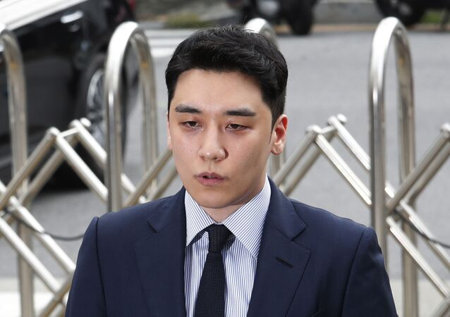 Seungri, a former member of the popular K-pop boy band Big Bang