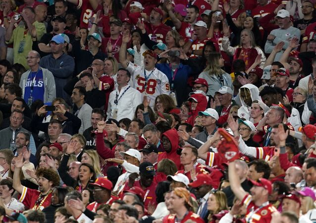 NFL Football - Super Bowl LIV - Kansas City Chiefs v San Francisco 49ers - Hard Rock Stadium, Miami, Florida, U.S. - February 2, 2020. Kansas City Chiefs fans during the game.