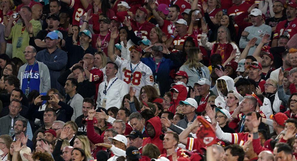 NFL Football - Super Bowl LIV - Kansas City Chiefs v San Francisco 49ers - Hard Rock Stadium, Miami, Florida, U.S. - February 2, 2020. Kansas City Chiefs fans during the game.
