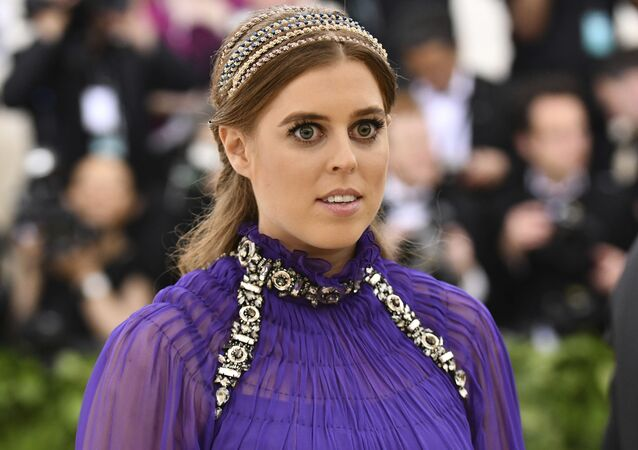 Princess Beatrice of York attends The Metropolitan Museum of Art's Costume Institute benefit gala