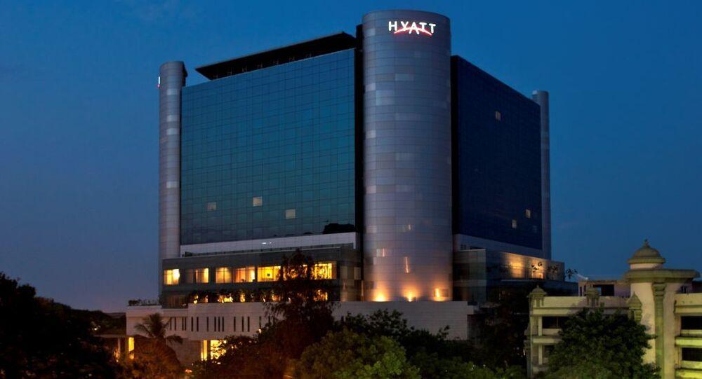Hyatt Hotel in South India