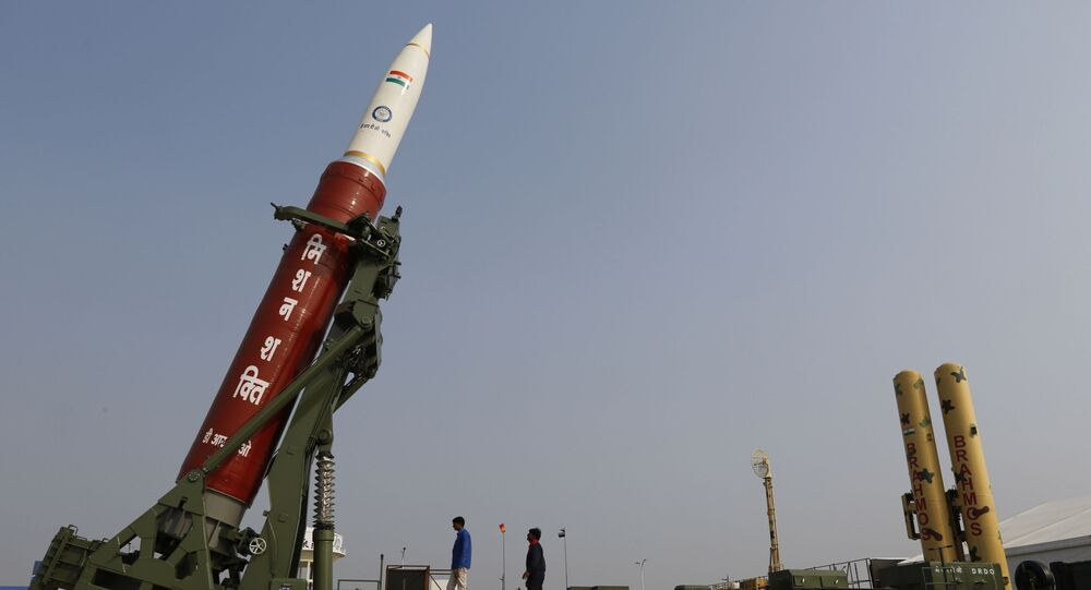 Mission Shakti, an anti-satellite missile, in Lucknow, India