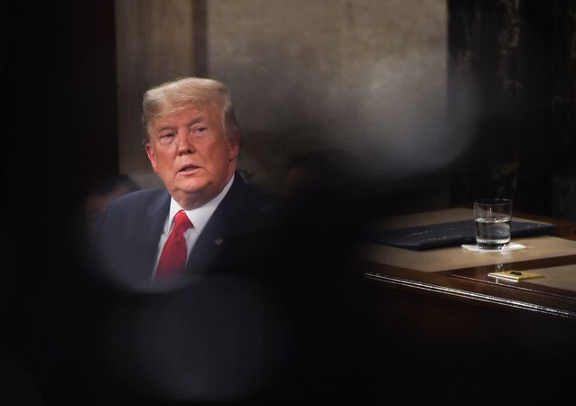 US President Donald Trump delivers the 2020 State of the Union address