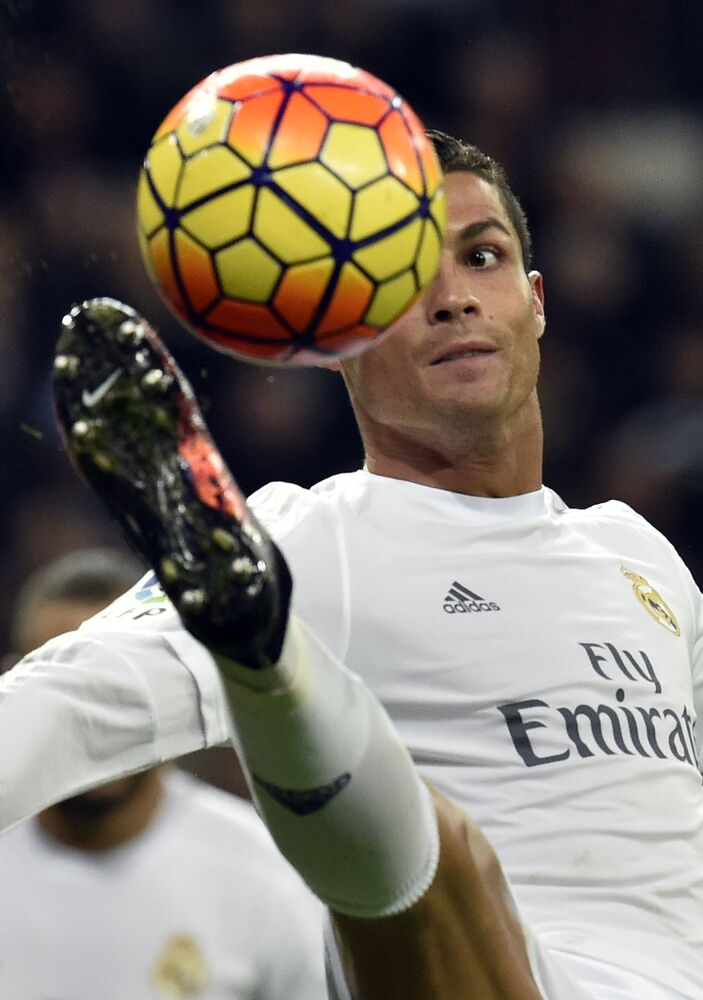 Cristiano Ronaldo during the match Real Madrid and RC Deportivo La Coruna, 2016