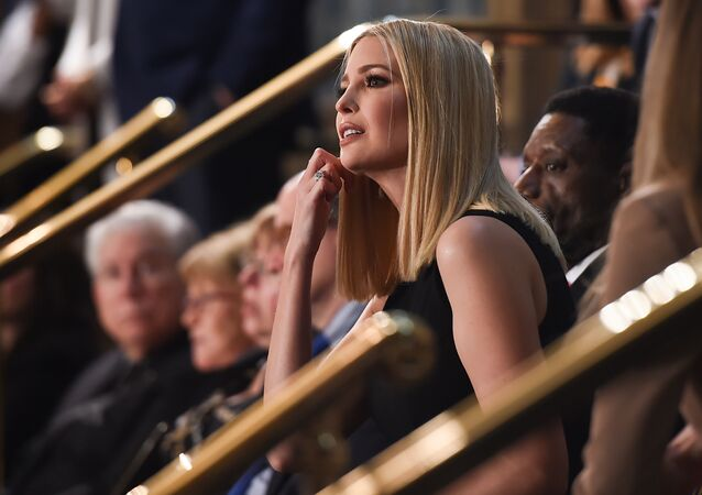 Senior Advisor to the President Ivanka Trump sits in the audience ahead of the State of the Union address at the US Capitol in Washington, DC, on February 4, 2020