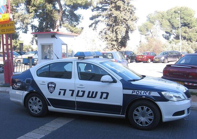 Israel Police squad car