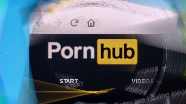 Pornhub logo - Sputnik International