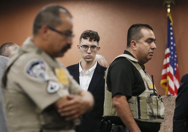 El Paso Walmart shooting suspect Patrick Crusius in El Paso, Texas