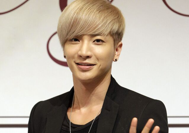 South Korean K-pop boy group Super Junior member Leeteuk