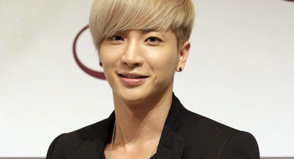 South Korean K-pop boy group Super Junior member Leeteuk