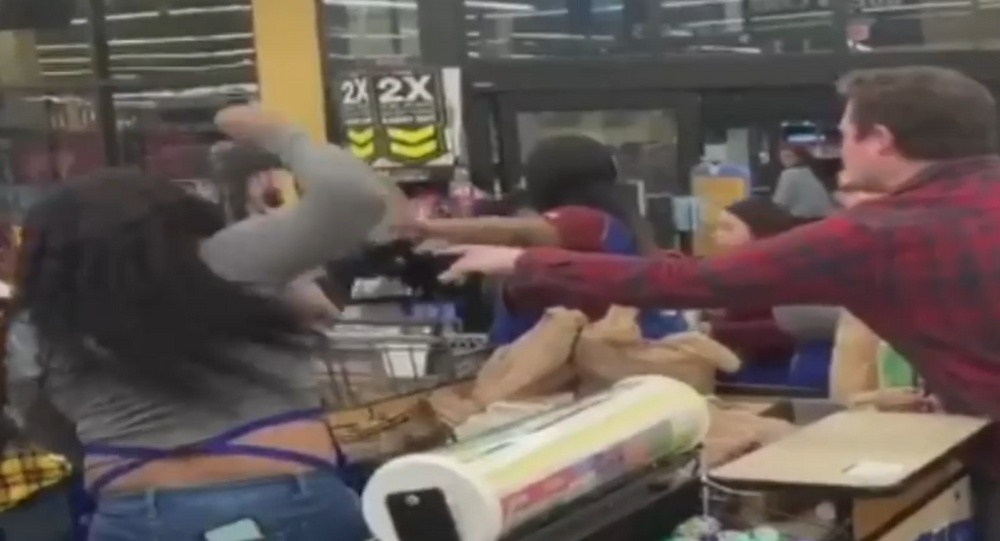 SHOPPING MAYHEM: A massive food fight broke out Monday night at a Nashville, Tenn., Kroger store!