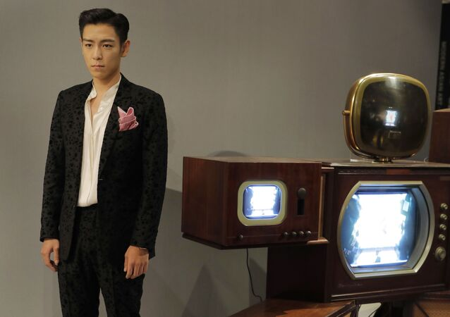 Singer and actor Choi Seung-hyun, better known by his stage name T.O.P, of South Korean boy band BIGBANG