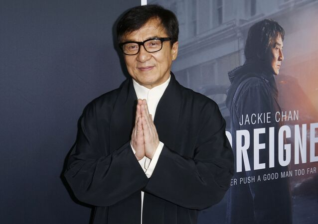 Jackie Chan arrives at the LA Premiere of The Foreigner at the Arclight Hollywood on Thursday, 5 Octover 2017