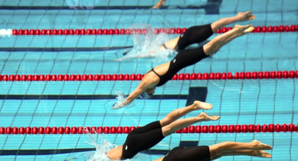 Swimming. The Third Stage of the World Cup 2011. Finals