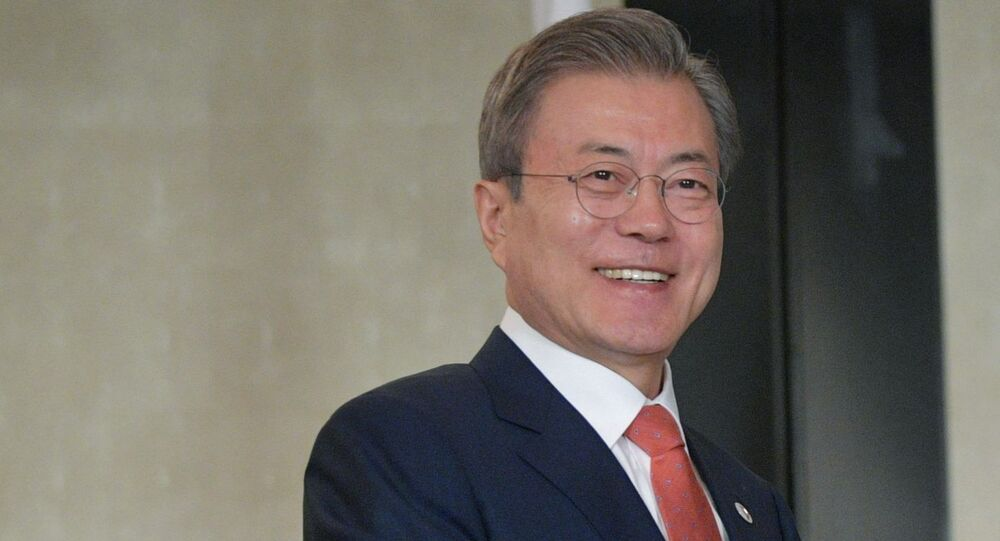 President of South Korea Moon Jae-in