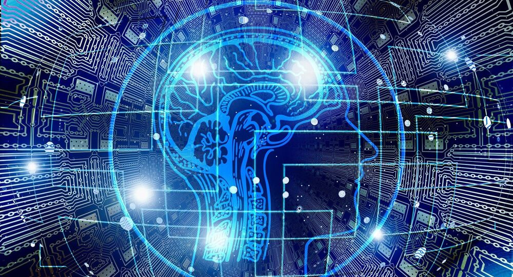 Artificial intelligence brain think