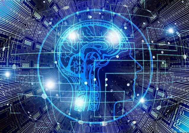 Artificial intelligence brain think