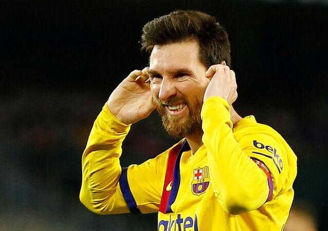 Soccer Football - La Liga Santander - Real Betis v FC Barcelona - Estadio Benito Villamarin, Seville, Spain - February 9, 2020