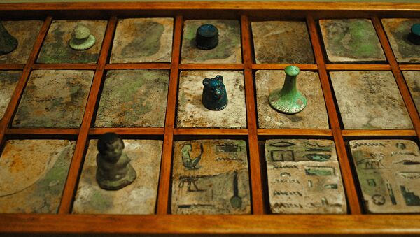 Senet, the game of passing, was a popular board game in Ancient Egypt. - Sputnik International