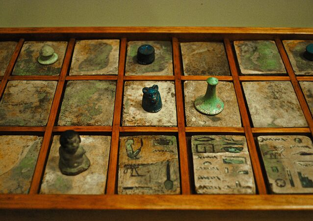 Senet, the game of passing, was a popular board game in Ancient Egypt.