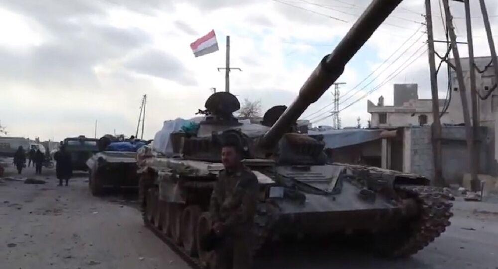 Syrian Army prepares to retake M-5 highway