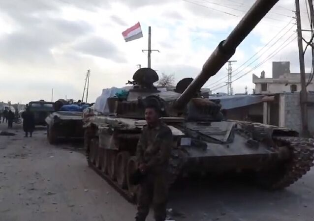 Syrian Army prepares to retake M-5 highway