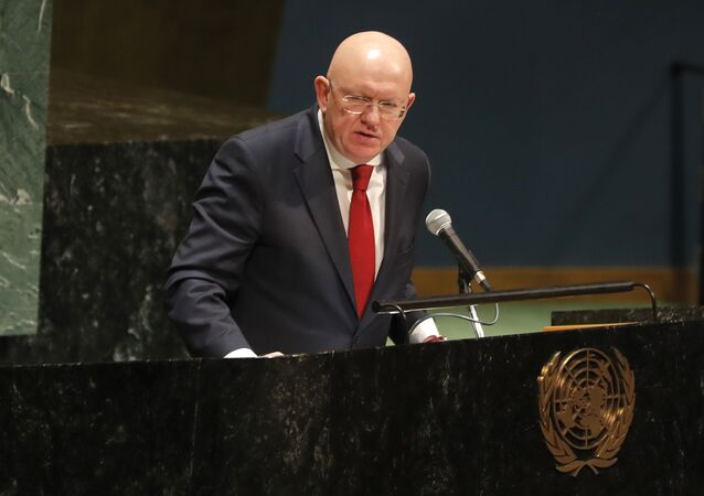 Russian ambassador to the United Nations Nebenzia Vassily