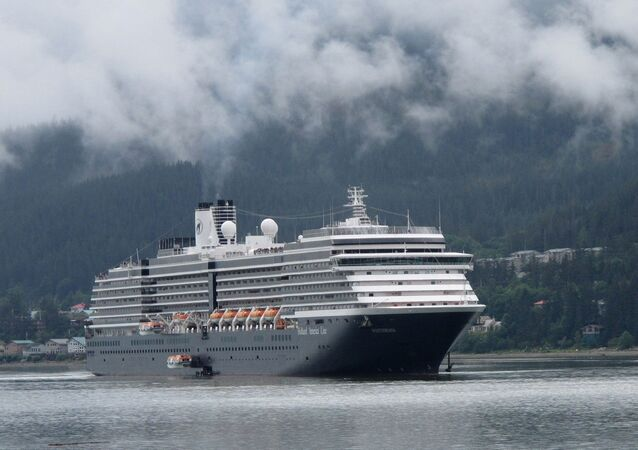 Westerdam Cruise Liner operated by Holland America Line
