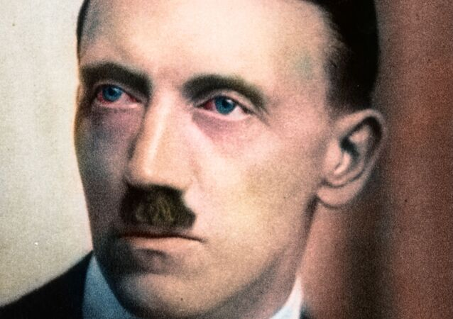Hitler, colored portrait (1920's)