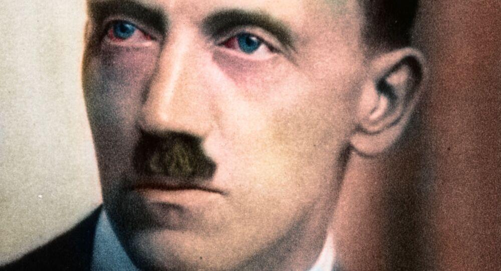 Hitler, colored portrait (1920's)