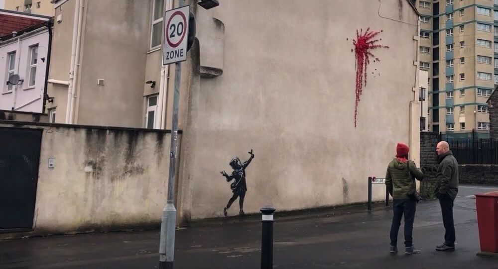 Suspected Banksy artwork has appeared in his home city of Bristol | SWNS